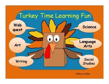 Turkey Time Thanksgiving Learning Fun