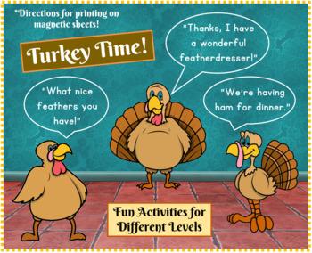 Turkey Time/ Make Magnets