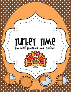Turkey Time Math {Fractions}