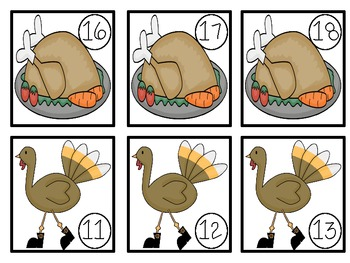 Turkey Time Math Unit