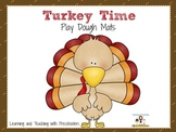 Turkey Time Play Dough Mats