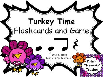 Turkey Time {Rest}  {Music: Rhythm Concept Game}