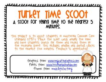 Turkey Time Scoot!