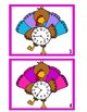 Turkey Time Scoot Game - 1 Minute Intervals
