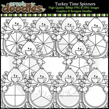 Turkey Time Spinners