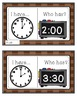 Turkey Time!  Telling Time Activities and Games