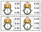 Turkey Time - Telling Time Clip Cards - Hour/Half Hour