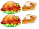 Turkey Time Thanksgiving Themed Compound Word Game