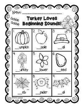 Transitional Kindergarten: It's Turkey Time!