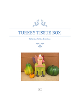 Turkey Tissue Box