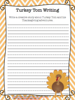 Turkey Tom Creative Writing