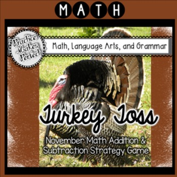 Thanksgiving Math Addition and Subtraction Fun