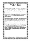 Turkey Toss Graph