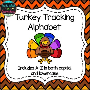 Turkey Tracking Alphabet! Letter and Sound Recognition Game