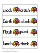 Turkey Tracking Phonics: Ending Digraphs Pack