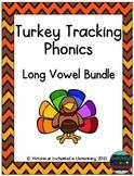 Turkey Tracking Phonics: Long Vowel Bundle