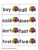 Turkey Tracking Sight Words! Second Grade List Pack