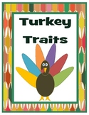 Turkey Traits: A Thanksgiving Character Trait Activitiy