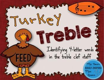 Turkey Treble: Identifying 4-Letter Words in the Treble Cl