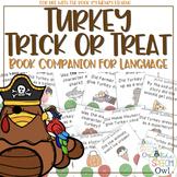 Turkey Trick Or Treat Book Companion