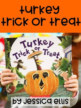 Turkey Trick Or Treat Book Companion