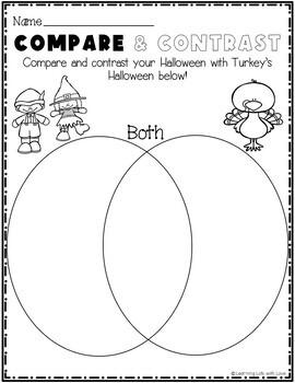 Turkey Trick or Treat  *Book Companion*