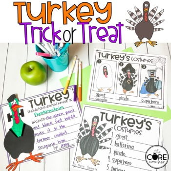 Turkey Trick or Treat: Interactive Read-Aloud Lesson Plans and Activities