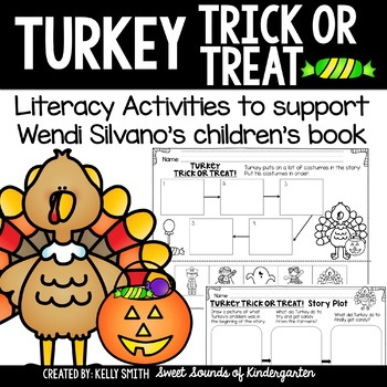 Turkey Trick or Treat-  Literacy Activities