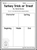 Turkey Trick or Treat // Reader's Response // by Wendi Silvano
