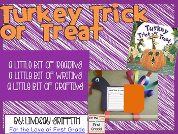 Turkey Trick or Treat Response and Craft