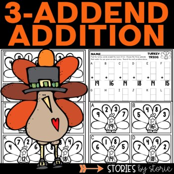 3-Addend Addition (Freebie)