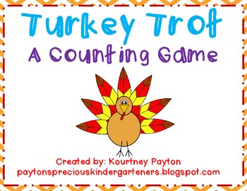Turkey Trot - A Counting Game 1-10