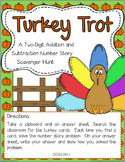 Thanksgiving Two-Digit Addition and Subtraction