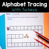 Turkey Trot! Alphabet Tracing Activity & Practice