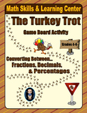 Thanksgiving Math Skills & Learning Center (Fractions-Decimals-Percentages)