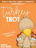 Turkey Trot -  Even & Odd Games & Activities