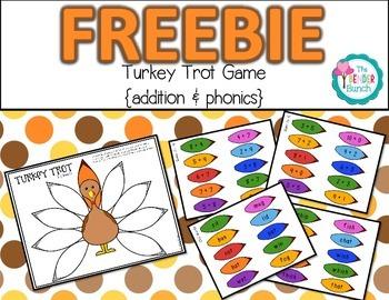 Turkey Trot Game {Freebie}