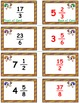Thanksgiving Math Skills & Learning Center (Improper Fractions & Mixed Numbers)
