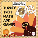 THANKSGIVING MATH GAME CENTER - Print, Cut, Go