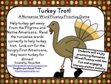 Turkey Trot! Nonsense Word Fluency Practice Game