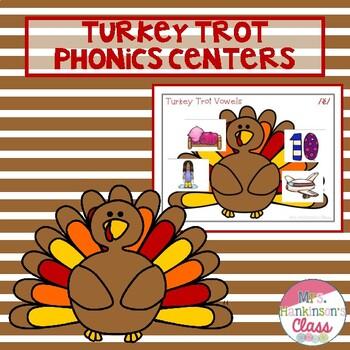 Turkey Trot Phonics Centers