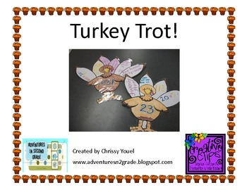 Turkey Trot:  Place Value has Gone to the Birds!