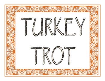 Turkey Trot PreAP