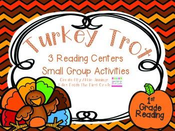 Turkey Trot- Reading Centers- 1st Grade