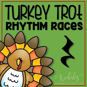 Turkey Trot Rhythm Races: ta rest (quarter rest)