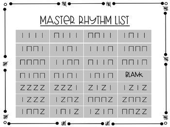 Turkey Trot Rhythm Relays Bundle Set