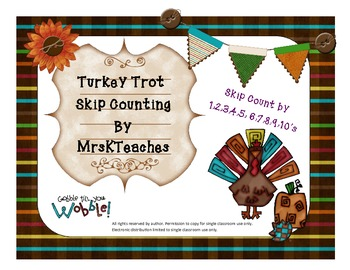 Turkey Trot Skip Counting