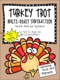 Turkey Trot Subtraction Activity: Multi-Digit Subtraction