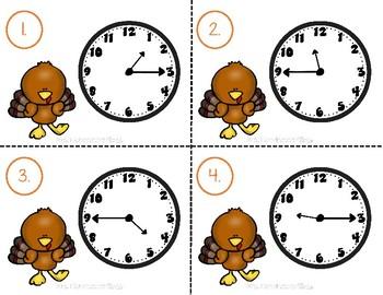 Turkey Trot Tellin' Time