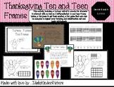 Turkey Trot Ten and Teen Frame Bundle